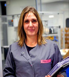 Flora HOUZELLE, Chef de Ligne de Conditionnement